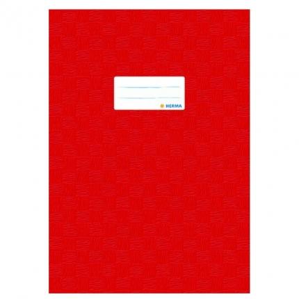 Heftschoner A4, rot gedeckt, Herma