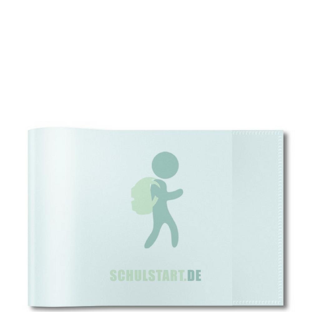 HERMA Heftschoner dunkelgrün DIN A5 Beschriftungsetikett Heftumschlag Hefthülle