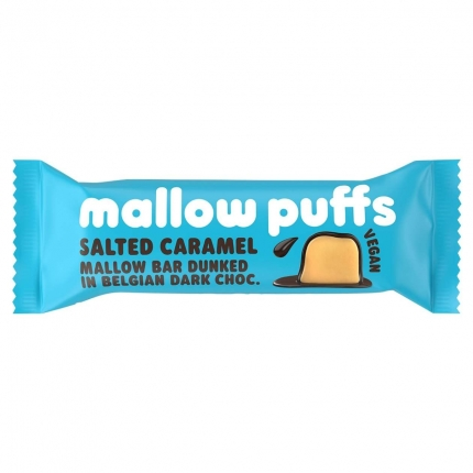Mallow Puffs: Salted Caramel Mallow Bar