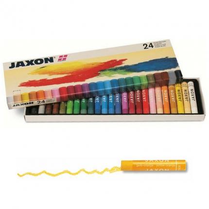 Ölpastellkreide Jaxon, 24 Farben