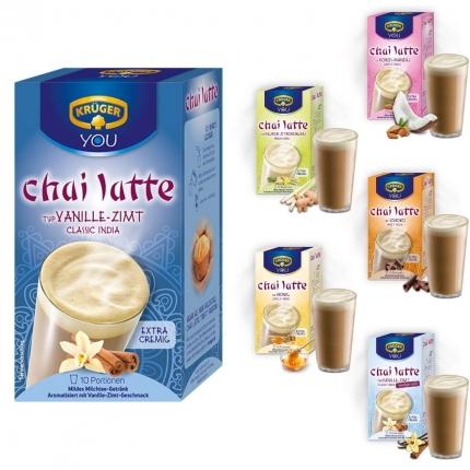 Chai-Latte Krüger, verschiedene Sorten, 1 Beutel