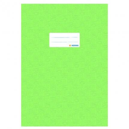 Heftschoner A4, hellgrün gedeckt, Herma