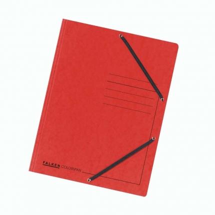 Jurismappe Colorspan-Karton, A4, rot