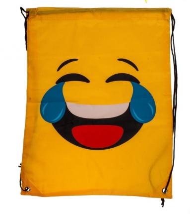 Emoji Turnbeutel: Freudentränen