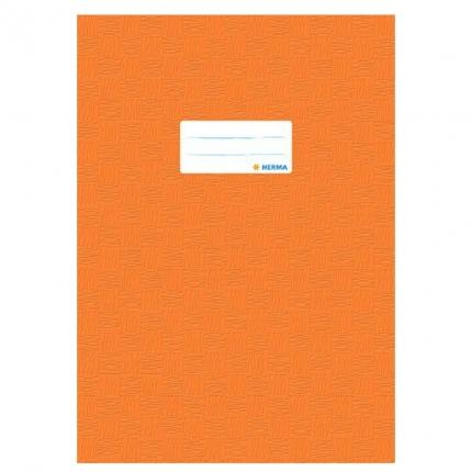 Heftschoner A4, orange gedeckt, Herma