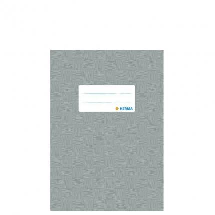 Heftschoner A5, grau gedeckt, Herma