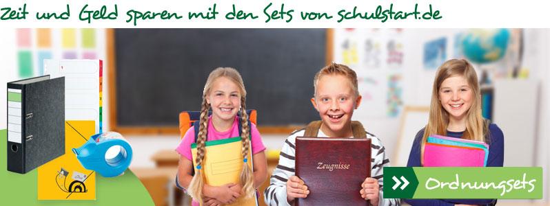 Zeit und Geld sparen mit den Sets von schulstart.de