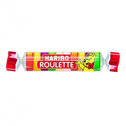 Roulette Frutchgummi-Rolle, 25 g