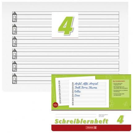 Schreiblernheft 4 für Lateinische Ausgangsschrift