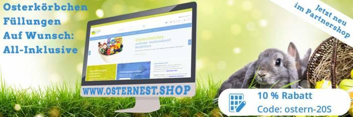 Jetzt zu unserem Partnershop: www.osternest.shop