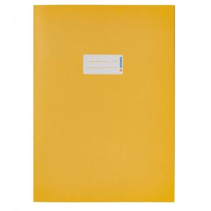 Heftschoner aus Recyclingpapier, A4 gelb