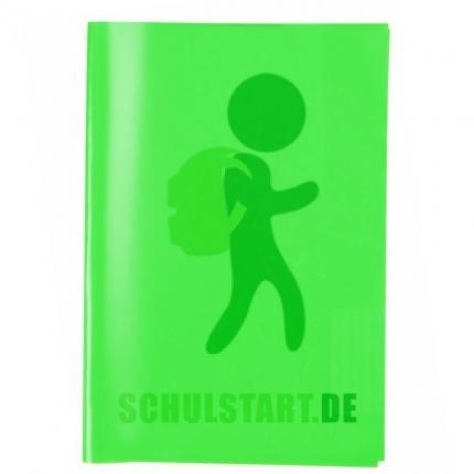 Transparenter Heftumschlag, A4 dunkelgrün, Herma