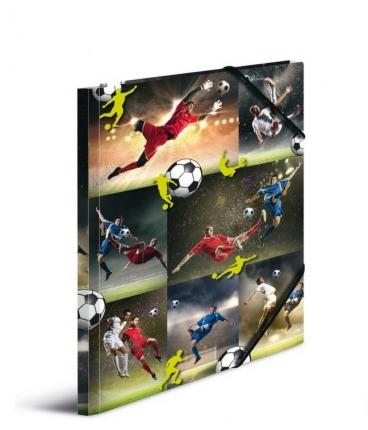Fußball Mappe A4, Karton, Herma
