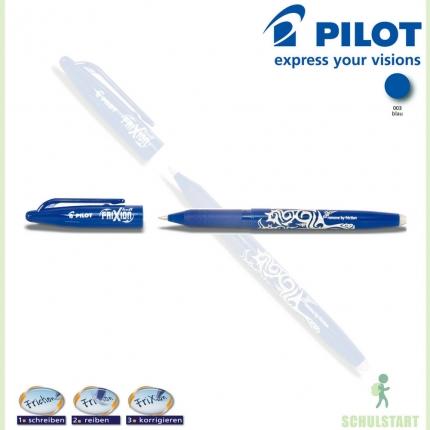 Pilot Frixion Ball blau: Radierbarer Tintenroller