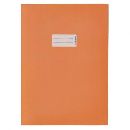 Heftschoner aus Recyclingpapier, A4 orange
