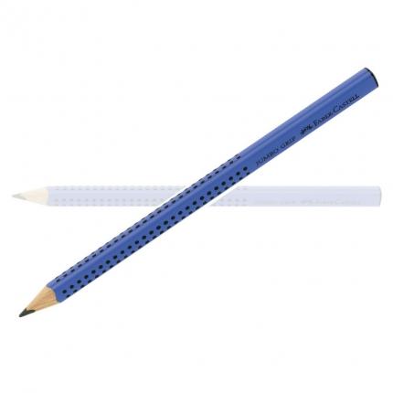 Schreiblernbleistift Jumbo Grip von Faber-Castell, Härte B, blau