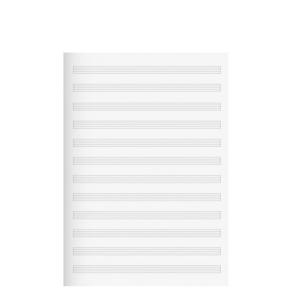 2 Notenhefte quer 1046331 Lineatur 14 Quer A5 Musik Heft Noten Schulheft Brunnen