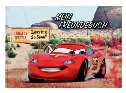 Cars Freundebuch mit wattiertem Cover