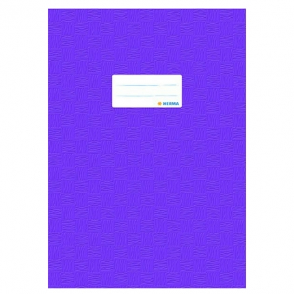 Heftschoner A4, violett gedeckt, Herma