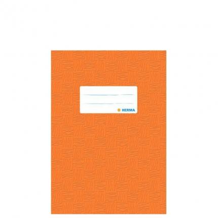 Heftschoner A5, orange gedeckt, Herma