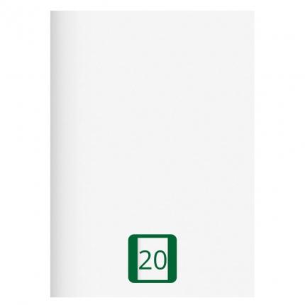 Großes Schulheft, Lineatur 20, A4