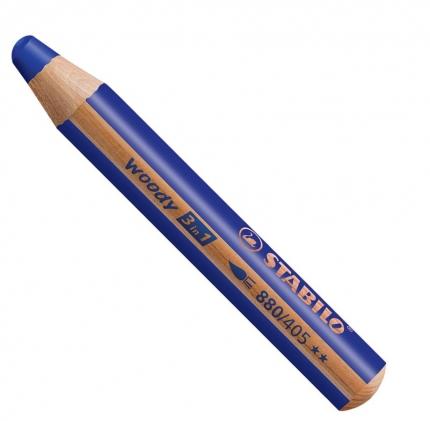 BB Buntstifte für Kleinkinder: Stabilo woody ultramarinblau - 405