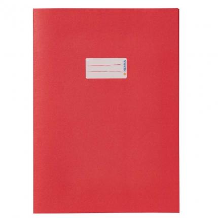 Heftschoner aus Recyclingpapier, A4 rot