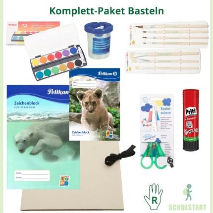 Komplett-Paket Basteln: Alle Bastelmaterialien für die Schule
