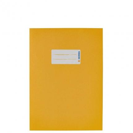 Heftumschlag Papier UWF, A5 gelb