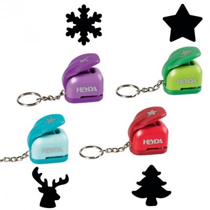 Motivstanzer Weihnachten mini, sortiert