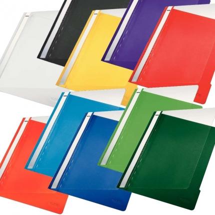 Leitz Schnellhefter PVC im Set mit 10 Farben