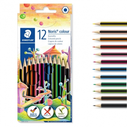 Staedtler Wopex Noris colour, 12 Buntstifte