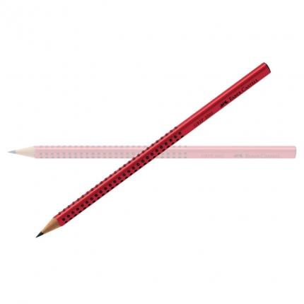 Faber-Castell Grip Bleistift B, rot