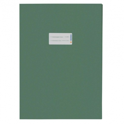 Heftschoner aus Recyclingpapier, A4 dunkelgrün