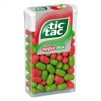 Apple Mix tic tac, 49 g