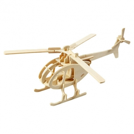 3D Holzpuzzle, Helikopter
