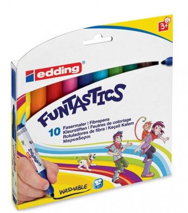 Dicke Filzstifte edding Funtastics, 10er Packung