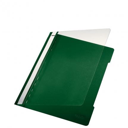 Plastik Schnellhefter grün, Leitz