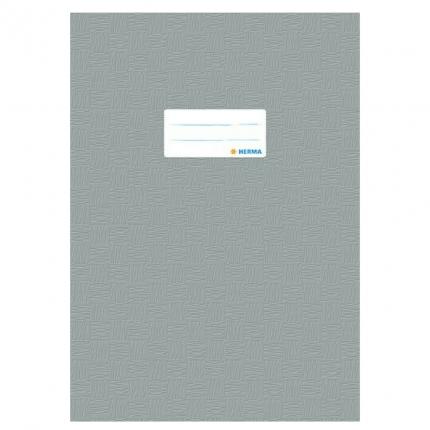 Heftschoner A4, grau gedeckt, Herma