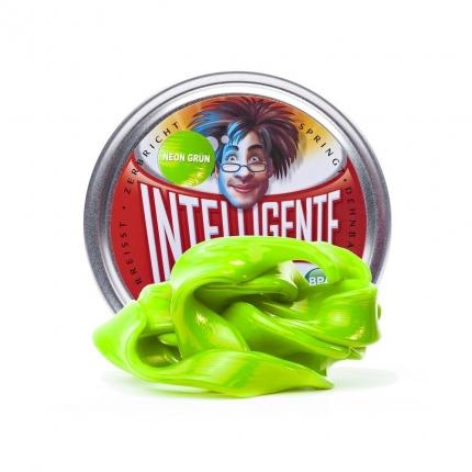 Intelligente Knete leuchtend Neon Grün