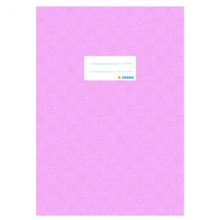 Heftschoner A4, rosa gedeckt, Herma