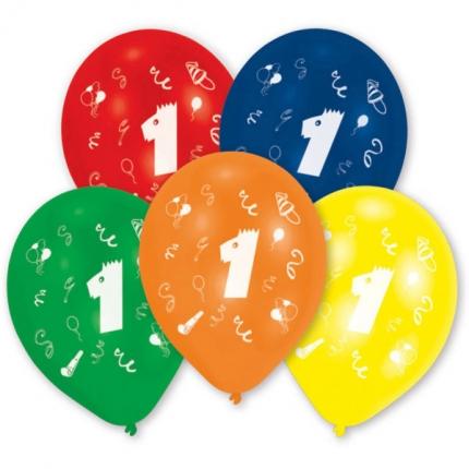 "Zahlenballon ""1"""