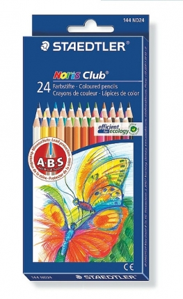 Staedtler 24 Farbstifte Noris Club