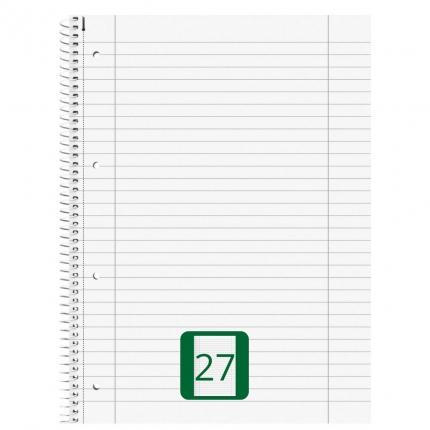 Collegeblock liniert, Lineatur 27, 80 Blatt