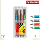 Stabilo worker+ colorful 4er Etui