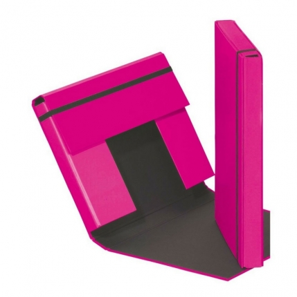 Heftbox A4 Pagna, dunkelrosa
