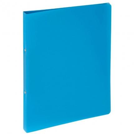 Ringhefter A4, Kunststoff hellblau, Pagna