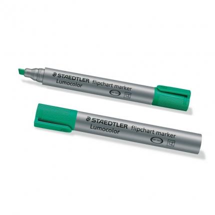 Flipchart Marker, Staedtler Lumocolor grün