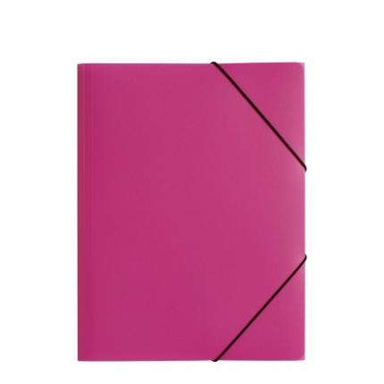 Jurismappe Plastik A4, dunkelrosa, Pagna