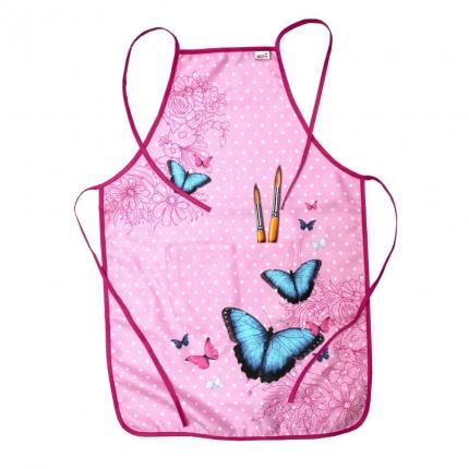 Bastelschürze Butterfly, Roth